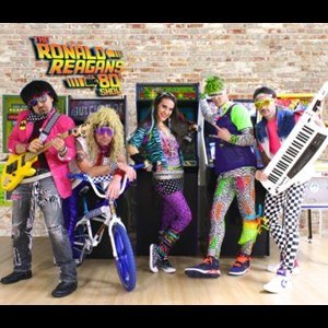 Livingston 80s Band | The Ronald Reagans Big 80's Show Tribute