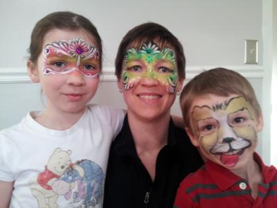 Giggles Faces N Glitter | Edmonton, AB | Face Painting | Photo #2