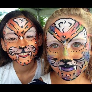 Golden Face Painter | Wink Productions