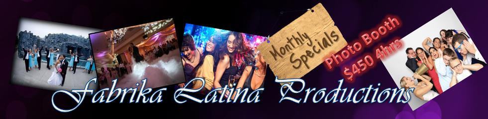 NJ Bilingual Latin DJ - Fabrika Latina Productions