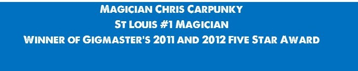 Chris Carpunky-St Louis Magicians