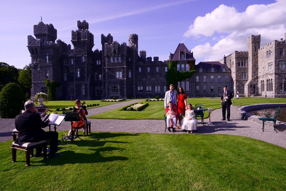 Tea at Ashford Castle Ireland