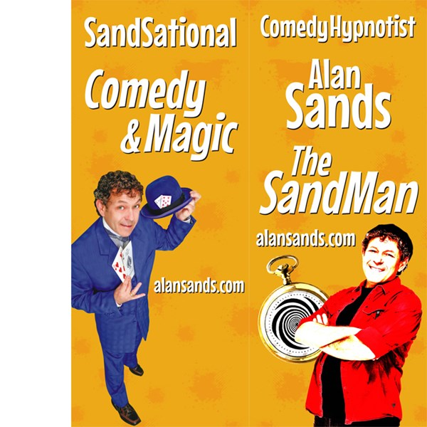 SF, CA Comedy Hypnosis & Magic The SandMan - Hypnotist - San Mateo, CA