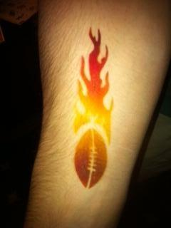 Temporary Air Brush Tattoo's By Jazzana  | Paramus, NJ | Temporary Tattoos | Photo #2