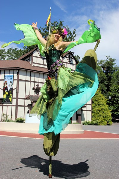 Nina Amaya, Stilt Walker - Belly Dancer - Baltimore, MD