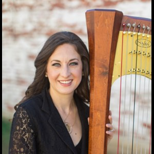 Roseville Harpist | Lauren C. Sharkey