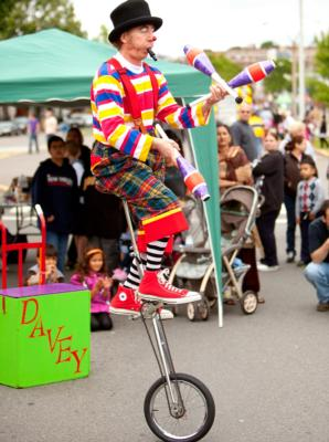Davey The Clown | Roslindale, MA | Clown | Photo #1