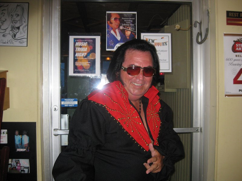 Johnny Ray - Elvis Impersonator - Boynton Beach, FL