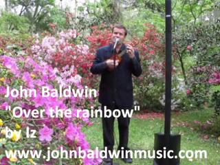"John Baldwin | Richmond, VA | Acoustic Guitar | ""Over the rainbow"" by Iz"