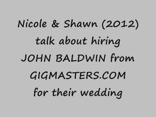 John Baldwin | Richmond, VA | Acoustic Guitar | WEDDING TESTIMONIAL