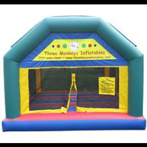 Red Lion Party Inflatables | 3 Monkeys Inflatables and Entertaiment