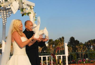White Dove Release For Weddings & Events | Huntington Beach, CA | Dove Releases | Photo #8