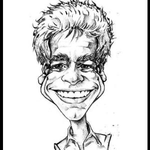Johnson Caricaturist | Bernie Tennis