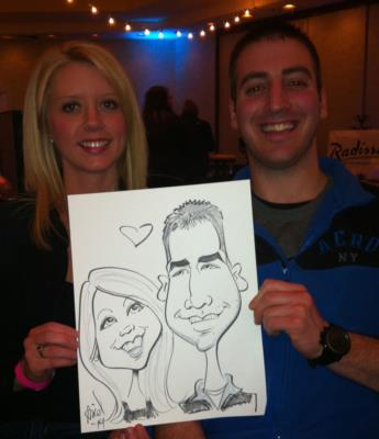 Ariel-View Caricatures & Illustrations | Wyandotte, MI | Caricaturist | Photo #5