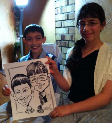 Ariel-View Caricatures & Illustrations | Wyandotte, MI | Caricaturist | Photo #2