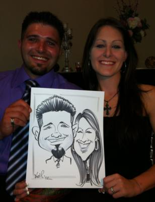 Ariel-View Caricatures & Illustrations | Wyandotte, MI | Caricaturist | Photo #4