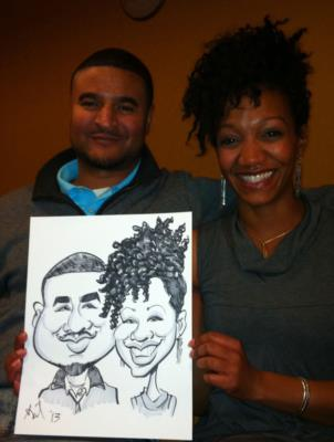 Ariel-View Caricatures & Illustrations | Wyandotte, MI | Caricaturist | Photo #21