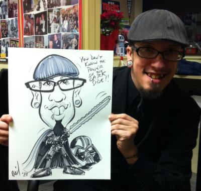 Ariel-View Caricatures & Illustrations | Wyandotte, MI | Caricaturist | Photo #19