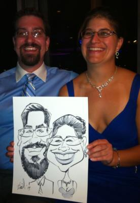 Ariel-View Caricatures & Illustrations | Wyandotte, MI | Caricaturist | Photo #25