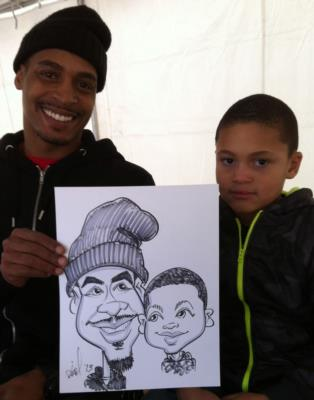 Ariel-View Caricatures & Illustrations | Wyandotte, MI | Caricaturist | Photo #23