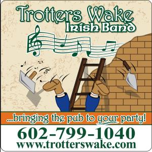 Mobile Irish Band | Trotters Wake