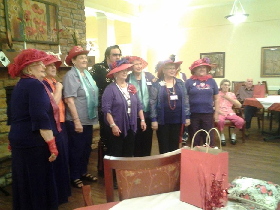 With the Red Hat Club