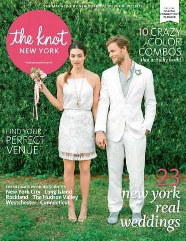 Josh mentioned in 2015 The Knot mag