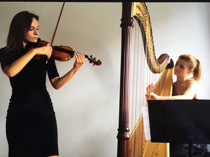 Violin and Harp Duo  - Classical Duo - New York, NY