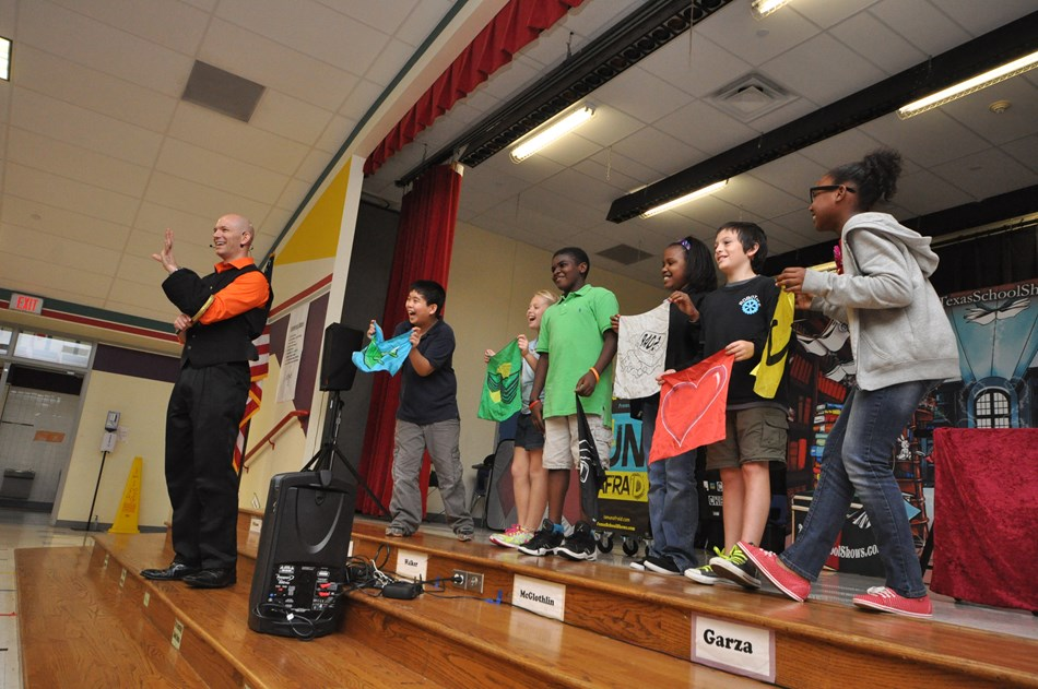 Anti Bullying Magic Show in Texas