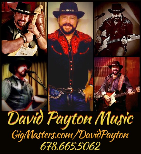 DAVID PAYTON: U.S.#1 Singer/Guitarist/One-Man-Band - Acoustic Guitarist - Marietta, GA