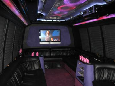 Corporate Limousines Of TX, Inc. | The Woodlands, TX | Party Bus | Photo #14