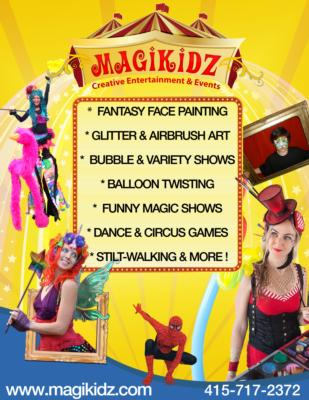 MagiKidz- Interactive Entertainment  | Oakland, CA | Face Painting | Photo #7