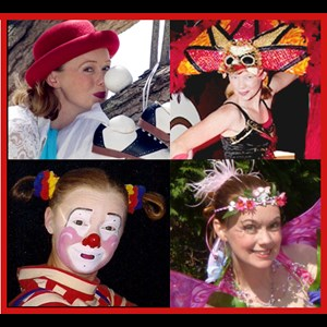 Catawba Clown | Amy Arpan's Illusions And Confusions