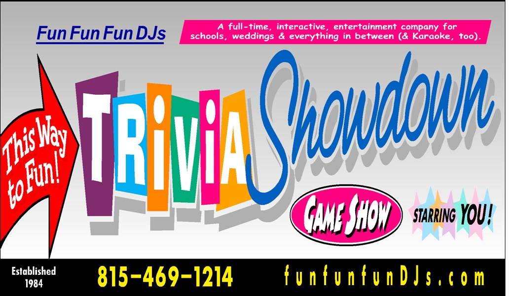 Fun Fun Fun DJs (+ Trivia Showdown Game Show)