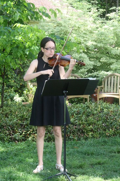 Krell Music, LLC: Stephanie Krell - Classical Violinist - New Columbia, PA
