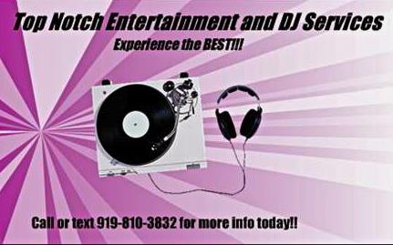 Top Notch Entertainment And Dj Services