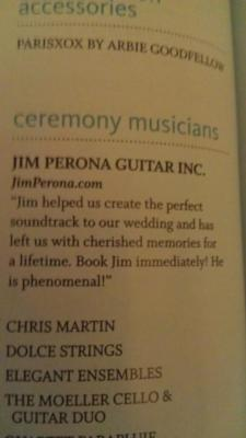 Jim Perona | Wheaton, IL | Classical Guitar | Photo #13