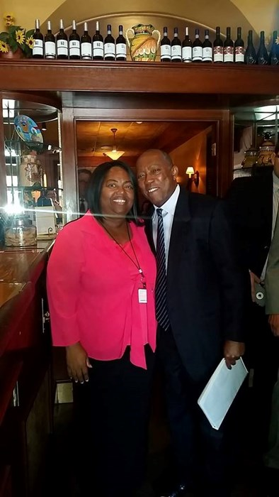 Mayor Sylvester Turner and Brenda G