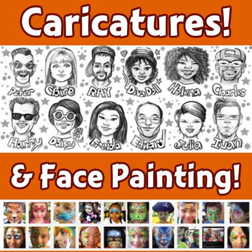 Face Painting Is Fun by Carol - Caricaturist - Yonkers, NY