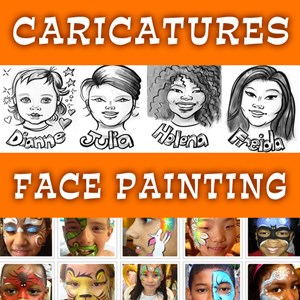 Breezy Point Face Painter | Face Painting Is Fun by Carol