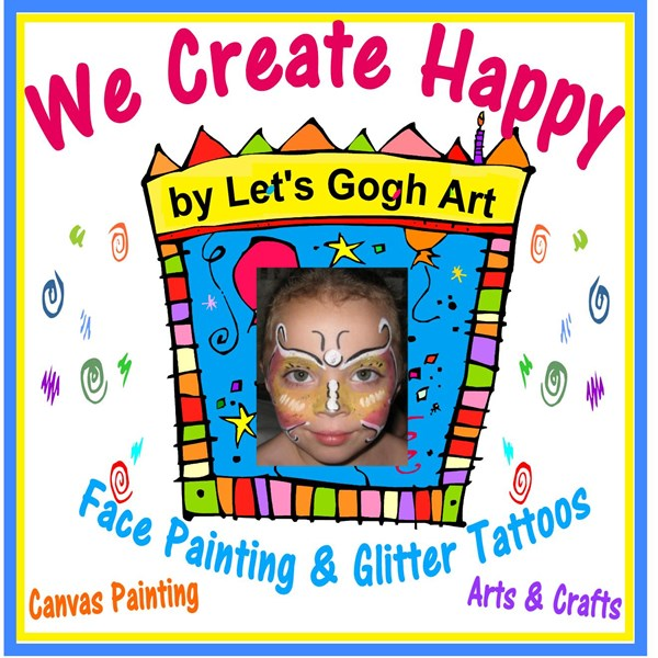 Let's Gogh Art - Face Painter - Lunenburg, MA