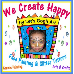 Glendale Princess Party | Let's Gogh Art