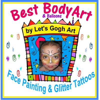 Let's Gogh Art | Lunenburg, MA | Face Painting | Photo #1