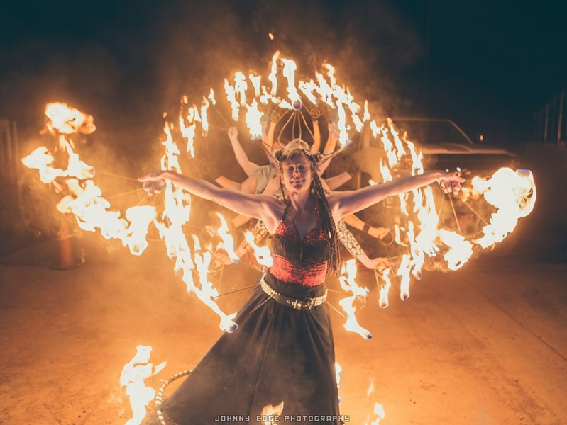Circus Farm Entertainers - Fire Dancer - Mesa, AZ