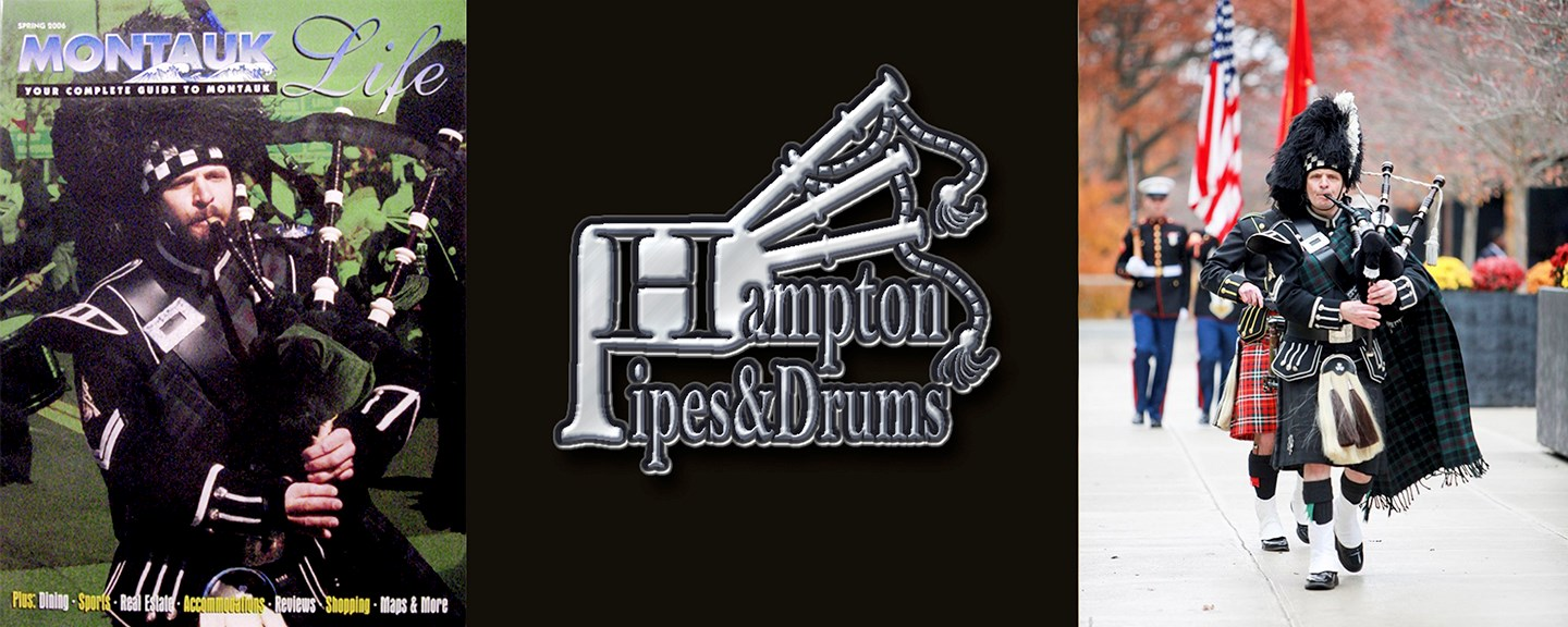 Hampton Pipes & Drums - Celtic Bagpiper - Bellport, NY