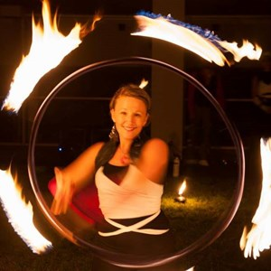 Chesterfield Fire Dancer | Pyrotechniq