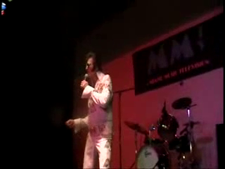 "Elvis as Rick Ricketts | Delray Beach, FL | Elvis Impersonator | ""Fever"""