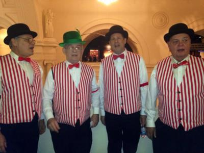 Fermata D'Aria | Chicago, IL | Barbershop Quartet | Photo #1