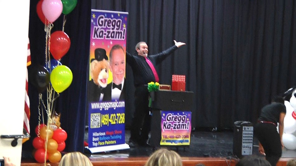 Magic show for schools