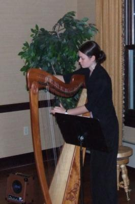 Cora Wiese Moore | Madison, WI | Celtic Harp | Photo #5